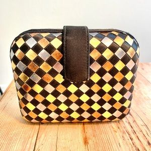Vintage La Regale LTD Hard Shell Clutch
